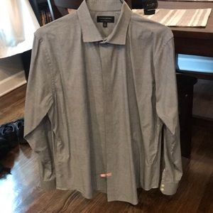 Banana Republic Large slim fit button down